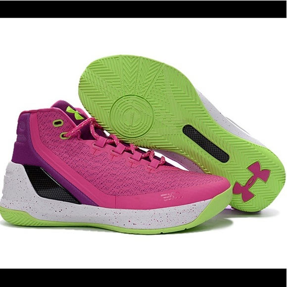 Pink and Green under Armour Curry 3s  Coming soon .  M 5b76d8965a9d210b697022c9 da5780d955c64